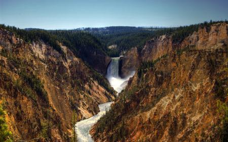 Картинки каньон, скалы, река