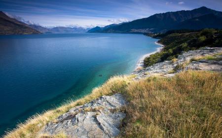 Заставки Пейзаж, природа, залив, море