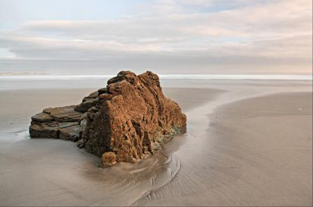 Заставки Морской пейзаж, море, берег, отлив