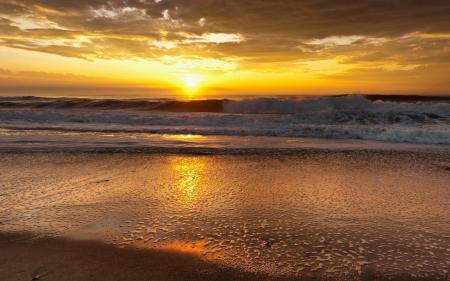 Фотографии море, закат, вечер, солнце