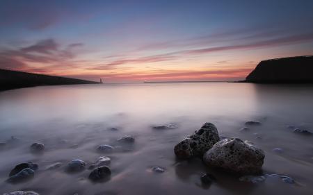 Фотографии закат, море, мяк, пейзаж