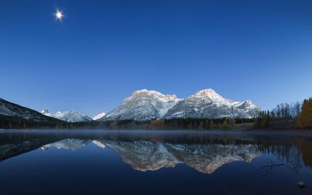 Картинки Kananaskis Country, Alberta, горы, пейзаж