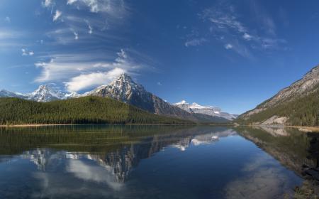Картинки природа, небо, тучи, горы