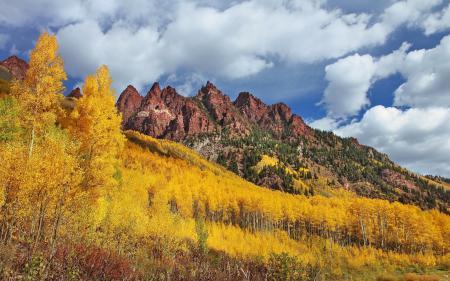 Фото Sievers Mountain, Maroon Bells, Colorado, Колорадо
