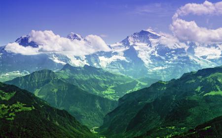 Фото Bernese Alps, Switzerland, горы, природа