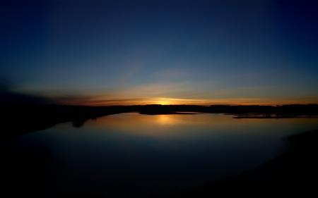 Фото природа, пейзаж, вечер, закат
