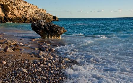 Картинки море, океан, склон, побережье