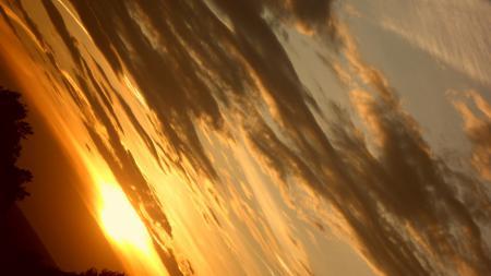 Заставки Небо, облака, закат