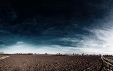 Обои природа, поле, земля, небо