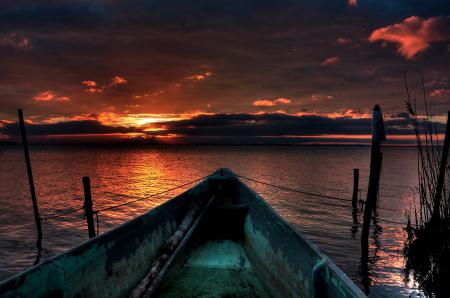 Фотографии небо, закат, море, вода