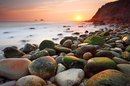 Фотографии камни, море, солнце