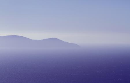 Фото небо, гора, море