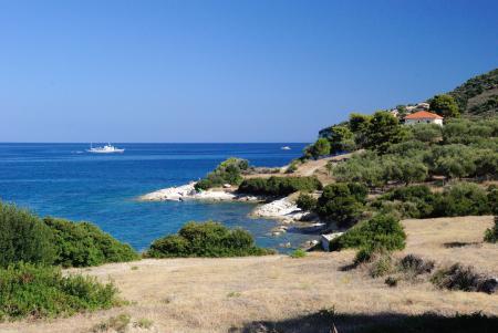 Заставки остров закинф, греция, скальный пляж