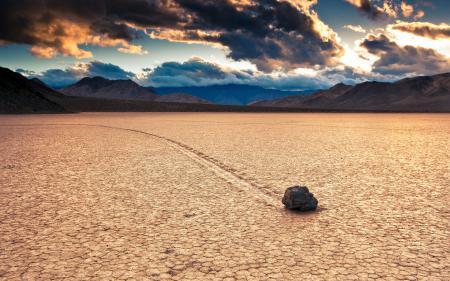 Обои пустыня, камень, пейзаж