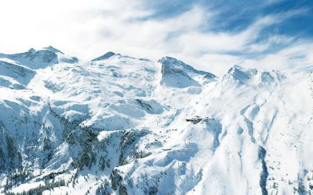 Обои снега, зима, зимние обои, горы