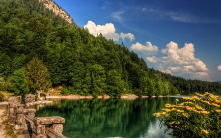 Фото dreamlake bay, озеро, горы