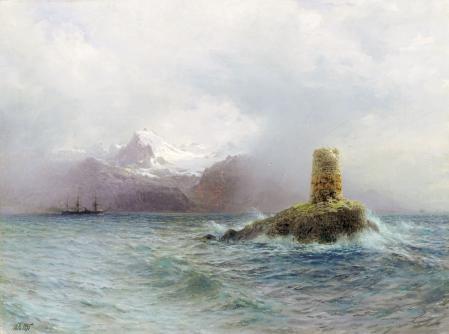 Фото Лагорио, Лафотенский остров, картина