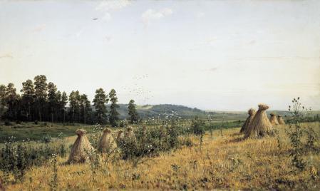 Обои Шишкин, Пейзаж Полесья, картина
