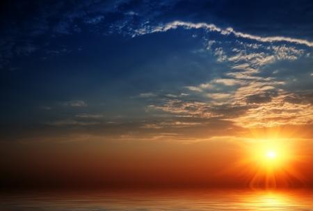 Заставки пейзажи, солнце, закат солнца, море