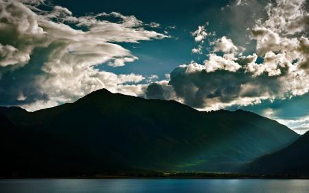 Фото пейзажи, фото, горы, вода