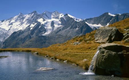 Фото Озеро Кройцбоден, Вале, Швейцария