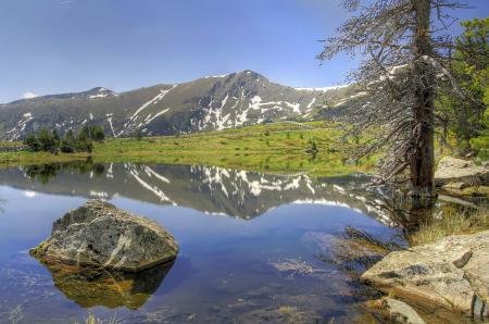 Фотографии Природа, пейзаж, горы, озеро