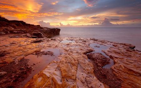 Заставки море, скалы, пейзаж