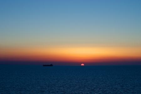 Заставки закат, солнце, диск, море