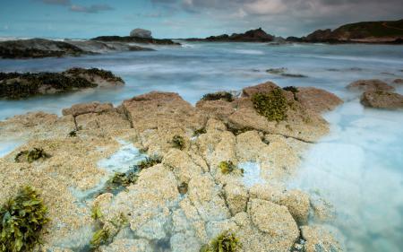 Картинки море, камни, природа, пейзаж