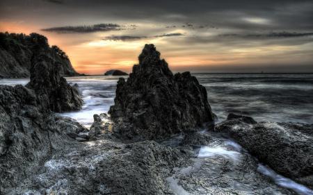 Фотографии ночь, море, природа
