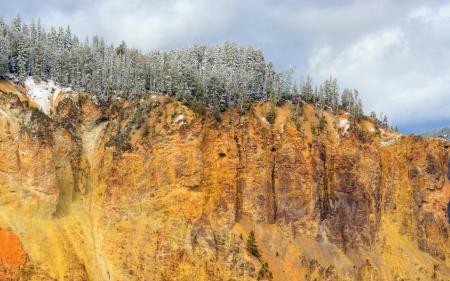 Фото горы, деревья, природа, пейзаж