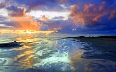 Заставки природа, пейзаж, побережье, песок