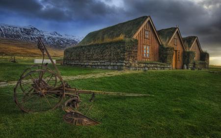 Фотографии пейзажи, дома, фото, трава