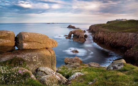 Фото море, океан, вода, камни