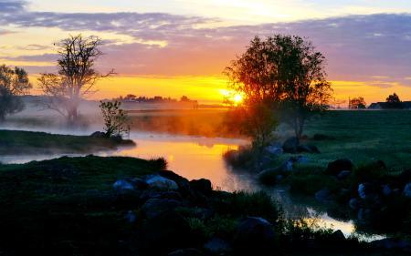 Картинки утро, вкчер, закат, зоря