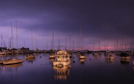 Обои лодки, яхты, порт, вода