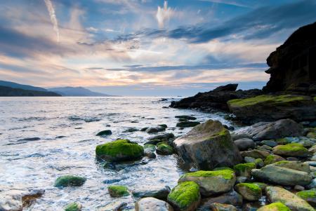 Заставки природа, пейзаж, море, скалы