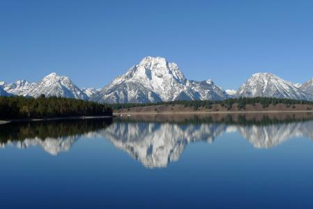 Заставки Grand teton, National park, пейзаж, природа