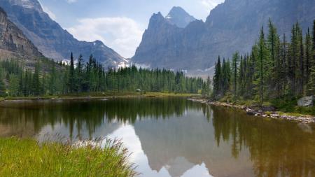 Фотографии Moor Lakes, Yoho National Park, Canada, природа