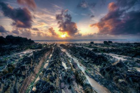 Фотографии море, солнце, небо, камни