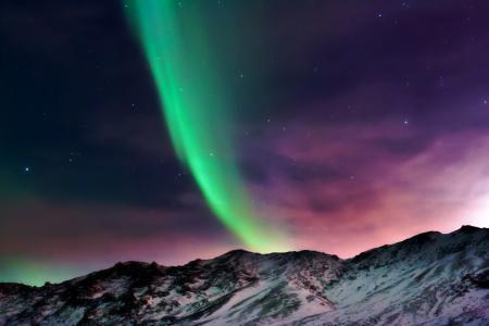 Заставки ночь, небо, северное сияние