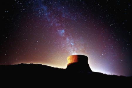 Фото ночь, звезды, млечный путь, небо