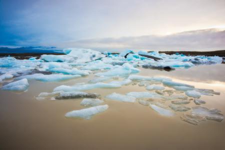 Картинки море, лёд, берег