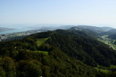 Фото Горы, озеро, высота, лето