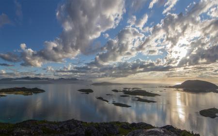 Фотографии вид, озеро, море, островки