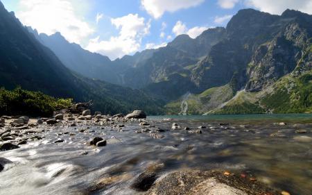 Фото Marine Eye Lake, Tatra Mountains, Poland, Татры
