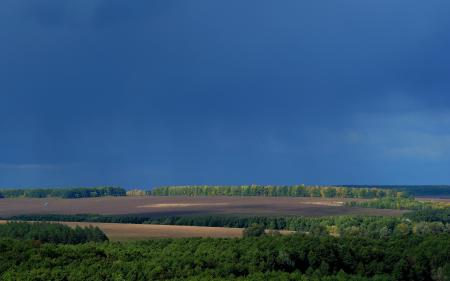 Заставки небо, поле, лес, простор