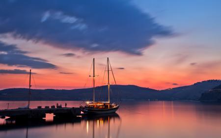 Фотографии seascape, sky, sunset, water