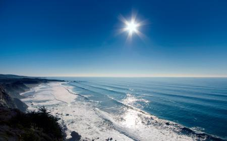 Картинки небо, вода, волны