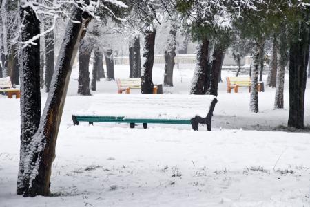 Картинки Snow park, зима, снег, парк